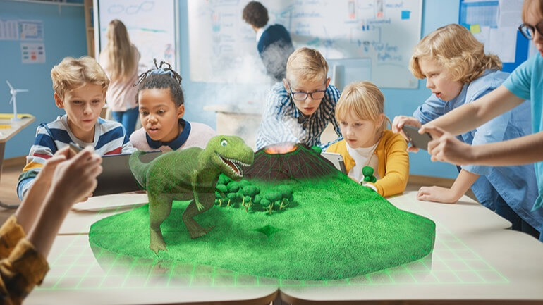 Augmented reality for schools